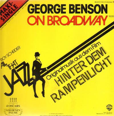 Cover George Benson - On Broadway / Weekend In L.A. (12, Maxi, Ltd) Schallplatten Ankauf