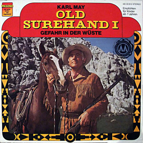 Cover zu Karl May - Old Surehand I - Gefahr In Der Wüste (LP) Schallplatten Ankauf