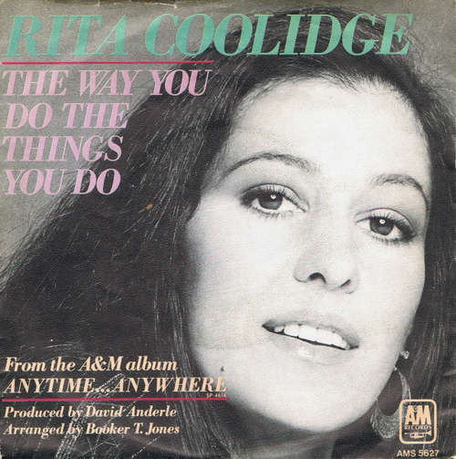 Bild Rita Coolidge - The Way You Do The Things You Do (7, Single) Schallplatten Ankauf