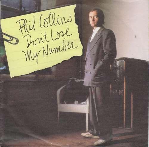 Bild Phil Collins - Don't Lose My Number (7, Single) Schallplatten Ankauf
