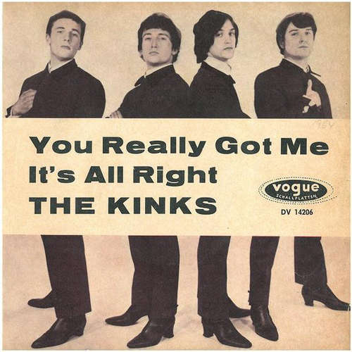 Cover The Kinks - You Really Got Me / It's All Right (7, Single) Schallplatten Ankauf