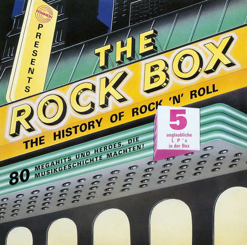 Cover Various - The Rock Box (The History Of Rock 'N' Roll) (5xLP, Comp + Box) Schallplatten Ankauf