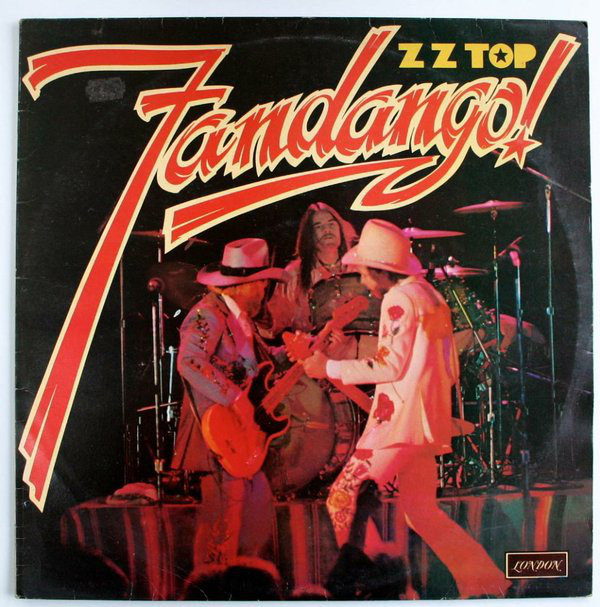 Cover ZZ Top - Fandango! (LP, Album) Schallplatten Ankauf