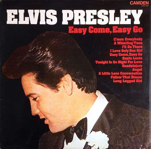 Cover Elvis Presley - Easy Come, Easy Go (LP, Comp) Schallplatten Ankauf