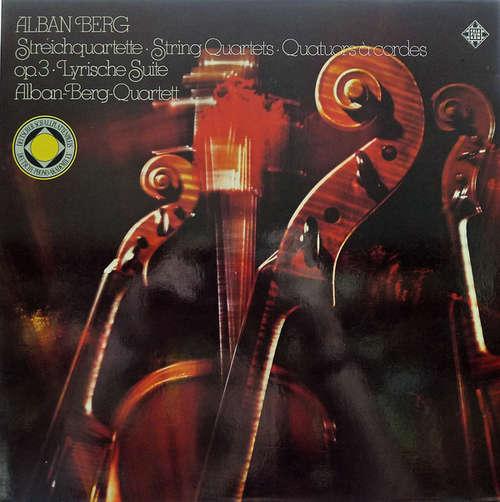 Bild Alban Berg - Alban-Berg-Quartett* - Streichquartett Opus 3 / Lyrische Suite (LP) Schallplatten Ankauf