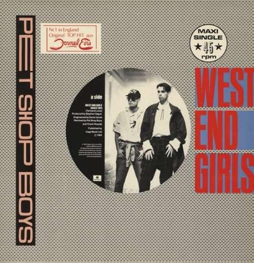 Bild Pet Shop Boys - West End Girls (12, Maxi) Schallplatten Ankauf