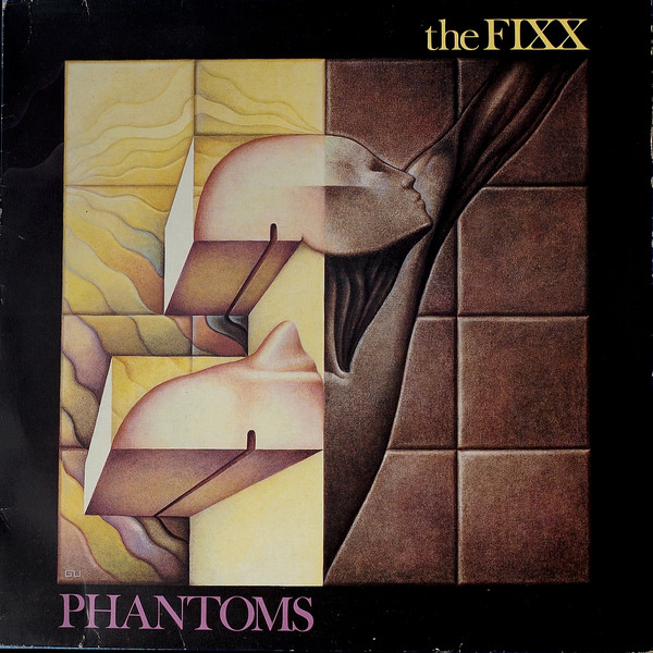 Cover zu The Fixx - Phantoms (LP, Album) Schallplatten Ankauf