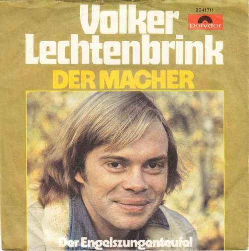 Bild Volker Lechtenbrink - Der Macher (7, Single) Schallplatten Ankauf