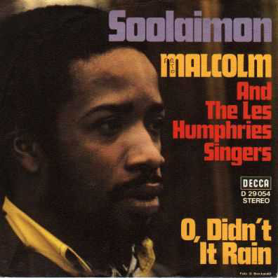 Bild Malcolm* And The Les Humphries Singers* - Soolaimon (7, Single) Schallplatten Ankauf
