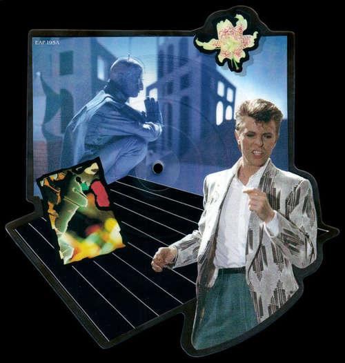 Cover David Bowie - Loving The Alien (Re-mixed Version) (7, Shape, Pic) Schallplatten Ankauf