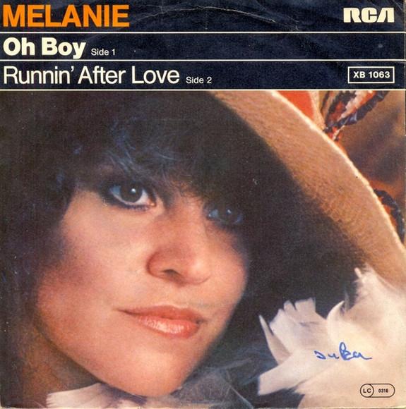 Bild Melanie (2) - Oh Boy (7, Single) Schallplatten Ankauf