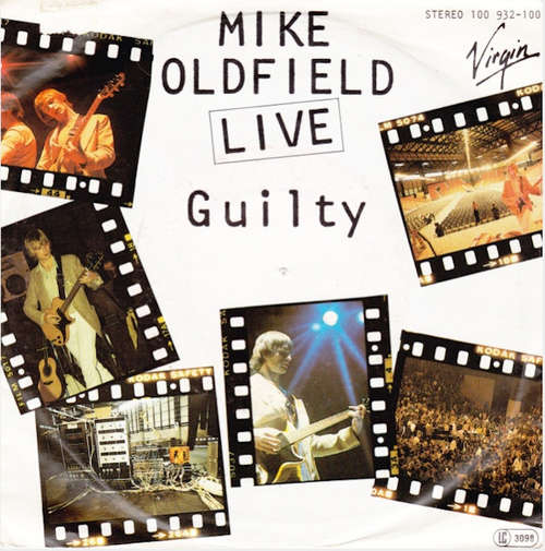 Cover Mike Oldfield - Guilty (Live) (7, Single) Schallplatten Ankauf