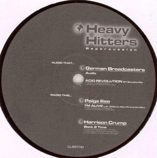 Bild Various - Heavy Hitters 2 - Repercussion Series (12) Schallplatten Ankauf