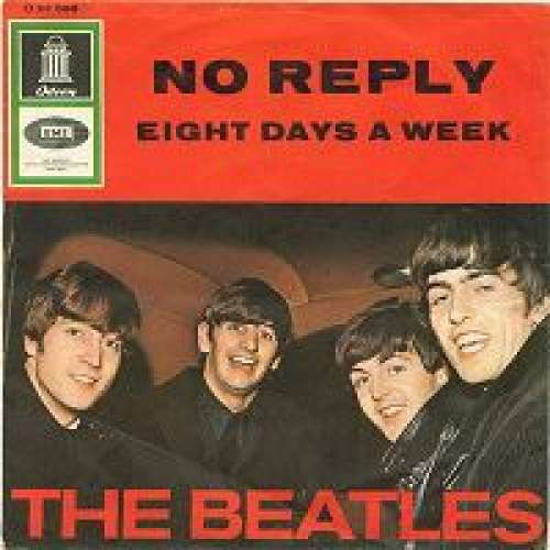 Cover Beatles, The - No Reply (7, Single) Schallplatten Ankauf
