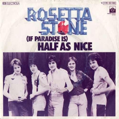 Bild Rosetta Stone (2) - (If Paradise Is) Half As Nice (7, Single) Schallplatten Ankauf