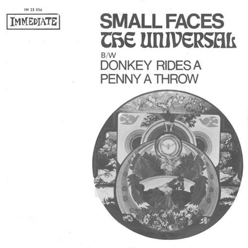 Bild Small Faces - The Universal B/W Donkey Rides A Penny A Throw (7, Single) Schallplatten Ankauf
