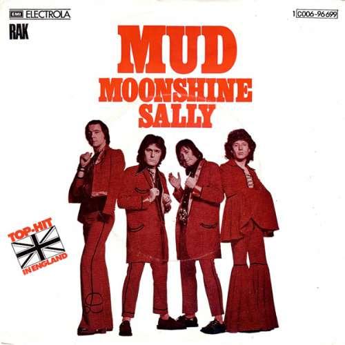 Bild Mud - Moonshine Sally (7, Single, Red) Schallplatten Ankauf