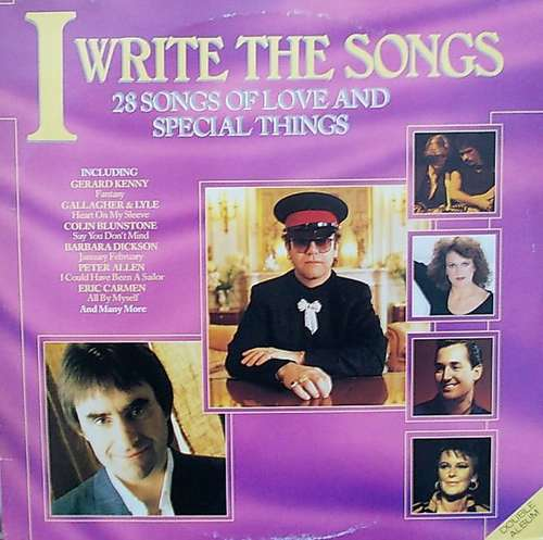 Bild Various - I Write The Songs (2xLP, Comp) Schallplatten Ankauf