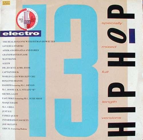 Cover Various - Street Sounds Hip Hop Electro 13 (LP, Comp, Mixed) Schallplatten Ankauf