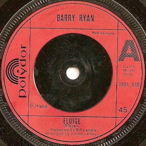 Cover zu Barry Ryan - Eloise (7, Single) Schallplatten Ankauf