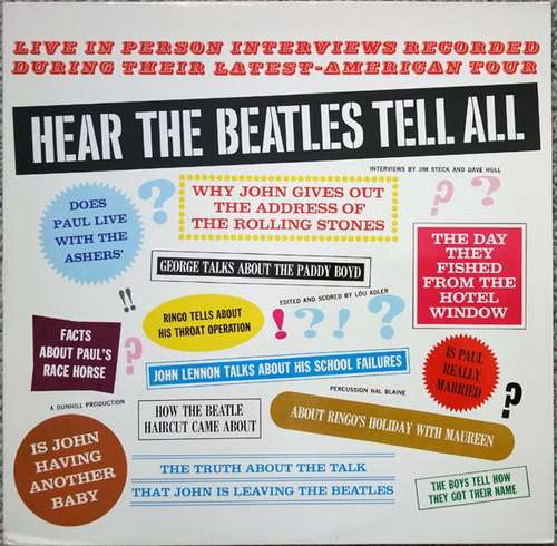 Cover The Beatles - Hear The Beatles Tell All (LP, RE) Schallplatten Ankauf