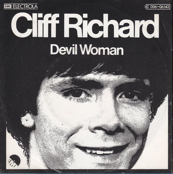 Bild Cliff Richard - Devil Woman (7, Single) Schallplatten Ankauf
