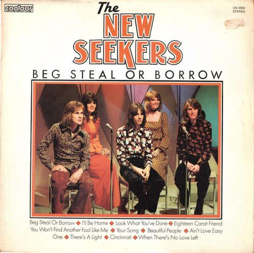 Bild The New Seekers - Beg Steal Or Borrow (LP, Comp, RE, Whi) Schallplatten Ankauf