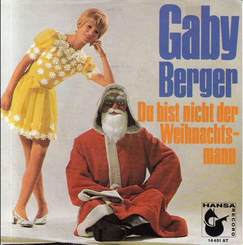 Cover Gaby Berger - Superboy / Du Bist Nicht Der Weihnachtsmann (7, Single) Schallplatten Ankauf