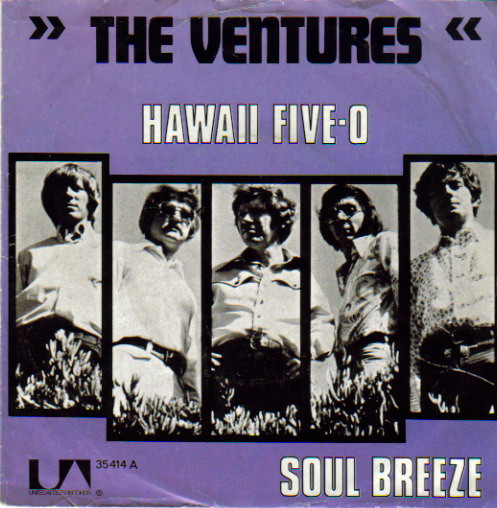 Cover The Ventures - Hawaii Five-O (7, Single) Schallplatten Ankauf