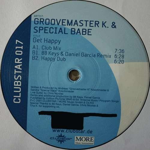 Bild Groovemaster K. & Special Babe - Get Happy (12) Schallplatten Ankauf