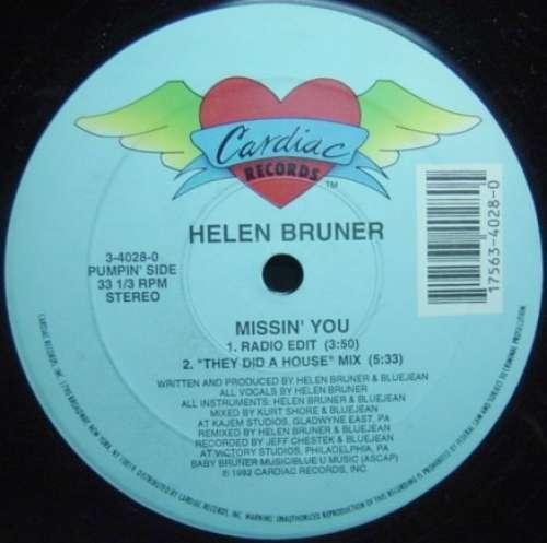 Bild Helen Bruner - Missin' You (12, Maxi) Schallplatten Ankauf