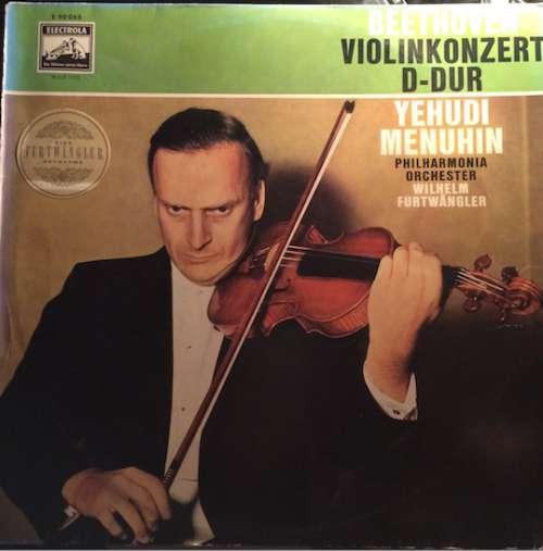 Cover Beethoven*, Yehudi Menuhin, Philharmonia Orchestra, Wilhelm Furtwängler - Violinkonzert D-dur Op. 61 (LP, Bre) Schallplatten Ankauf
