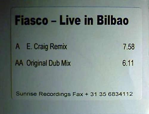 Bild Fiasco (2) - Live In Bilbao (12, Promo, W/Lbl) Schallplatten Ankauf