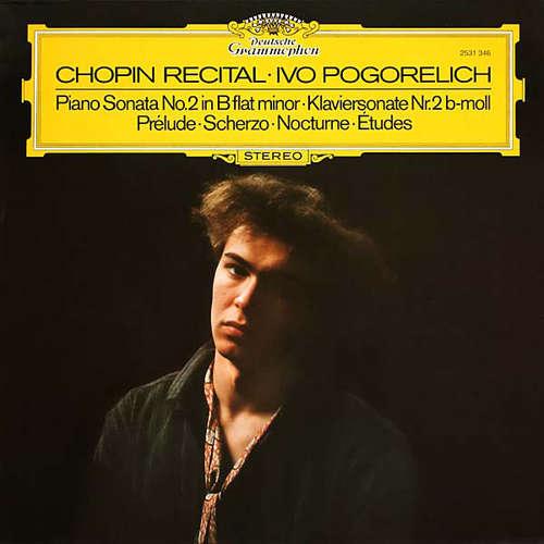 Cover zu Chopin*, Ivo Pogorelich - Chopin Recital (LP) Schallplatten Ankauf