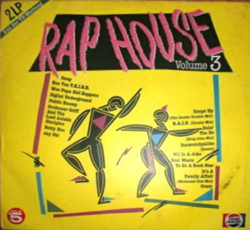 Cover Various - Rap House Volume 3 (2xLP, Comp) Schallplatten Ankauf