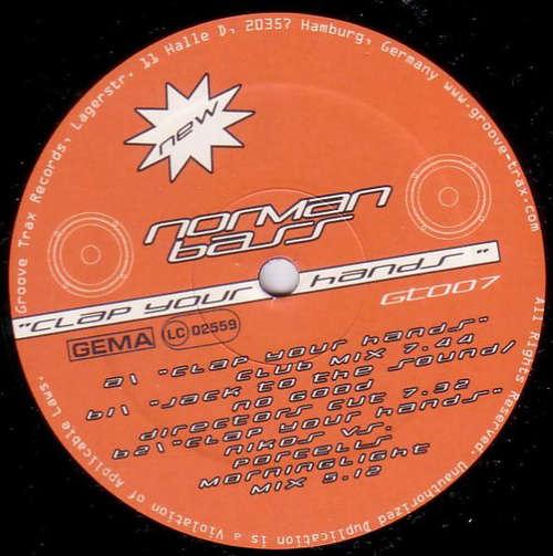 Cover Norman Bass - Clap Your Hands (12) Schallplatten Ankauf