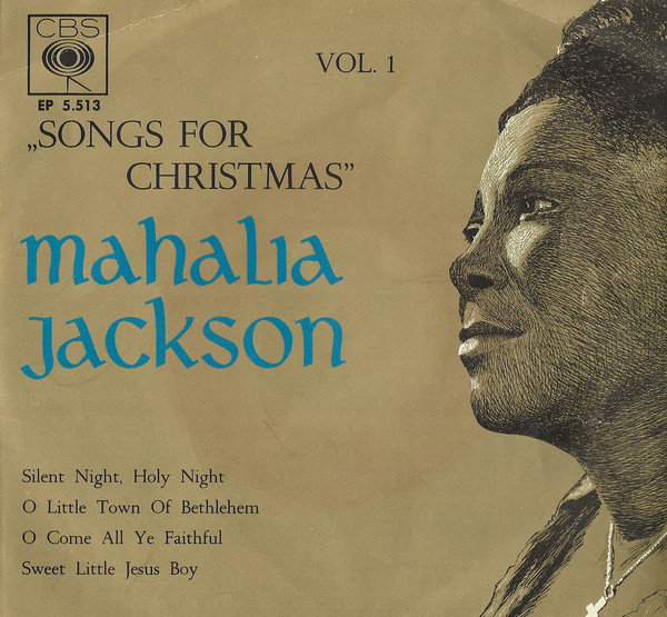 Cover Mahalia Jackson - Songs For Christmas Vol. 1 (7, EP) Schallplatten Ankauf