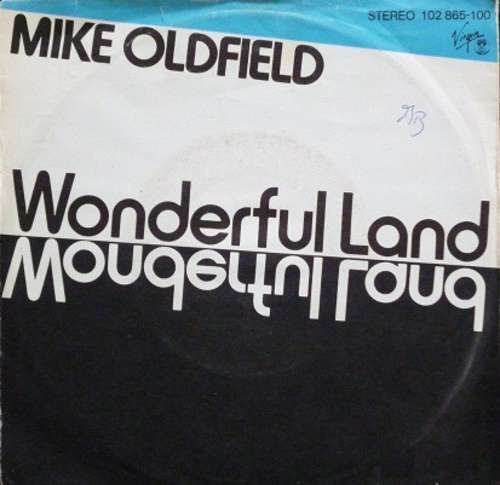Bild Mike Oldfield - Wonderful Land (7, Single) Schallplatten Ankauf