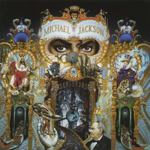 Cover Michael Jackson - Dangerous (CD, Album) Schallplatten Ankauf