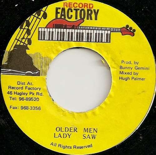 Bild Lady Saw - Older Men (7) Schallplatten Ankauf