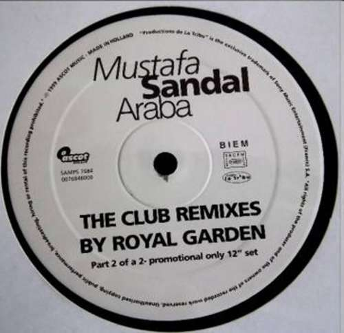 Bild Mustafa Sandal - Araba (The Club Remixes By Royal Garden) (Part 2 Of A 2x12 Set) (12, Promo) Schallplatten Ankauf
