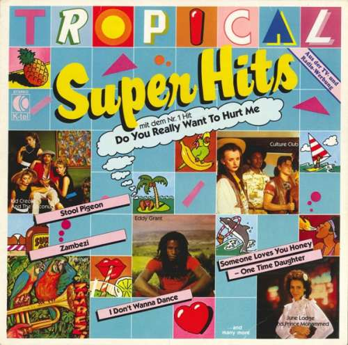 Cover zu Various - Tropical Super Hits (LP, Comp) Schallplatten Ankauf