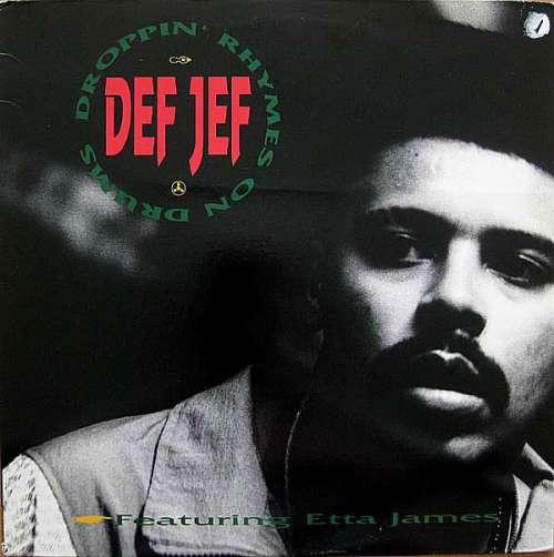 Bild Def Jef - Droppin' Rhymes On Drums / God Made Me Funky (12) Schallplatten Ankauf