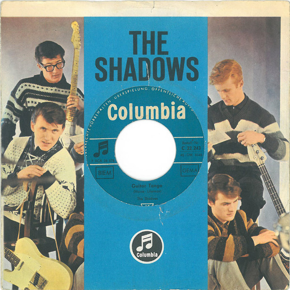 Cover The Shadows - Guitar Tango (7, Single) Schallplatten Ankauf
