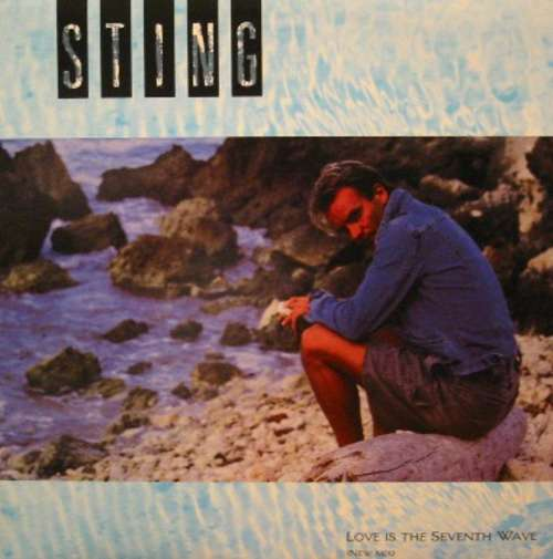 Cover Sting - Love Is The Seventh Wave (New Mix) (7, Single) Schallplatten Ankauf