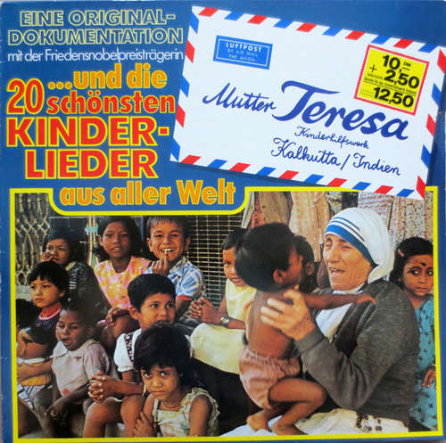 Cover Mutter Teresa* - Eine Original Dokumentation (LP) Schallplatten Ankauf