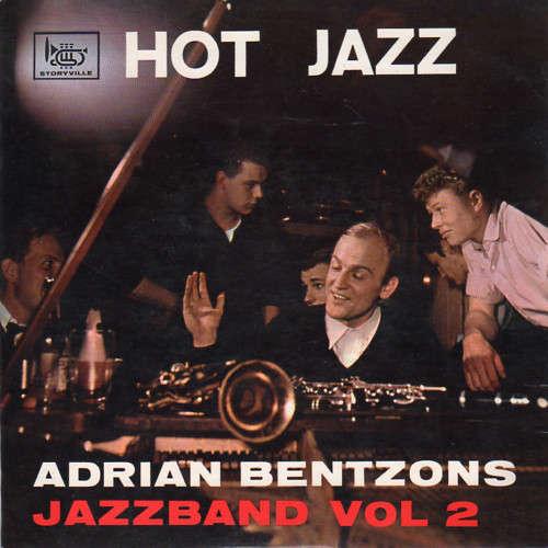 Cover zu Adrian Bentzon's Jazzband - Adrian Bentzons Jazzband (7, EP) Schallplatten Ankauf