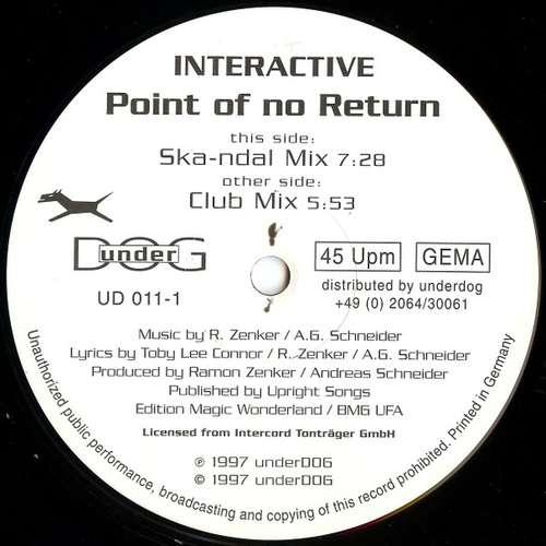 Bild Interactive - Point Of No Return (12) Schallplatten Ankauf