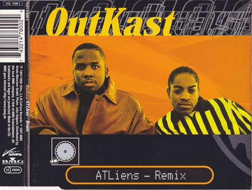 Cover OutKast - ATLiens - Remix (CD, Single) Schallplatten Ankauf