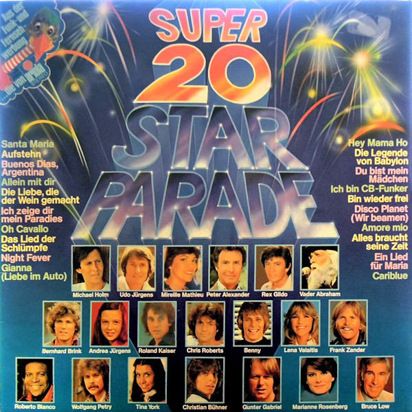 Bild Various - Super 20 Star Parade (LP, Comp, Club) Schallplatten Ankauf